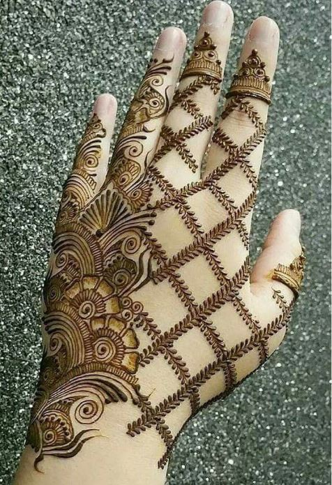 Latest Mehendi Designs Beautiful Trends for Girls (36)