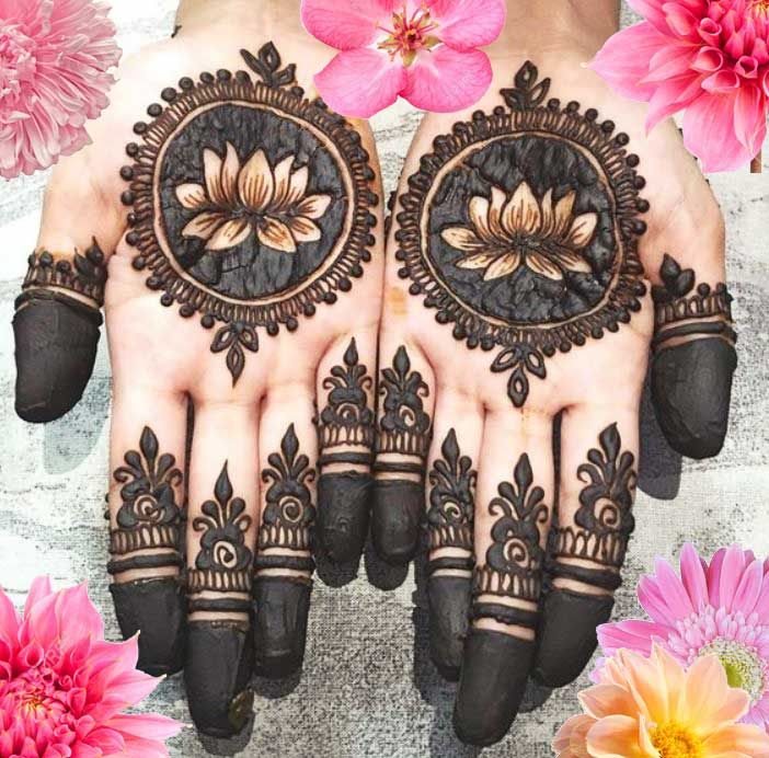 Latest Mehendi Designs Beautiful Trends for Girls (40)