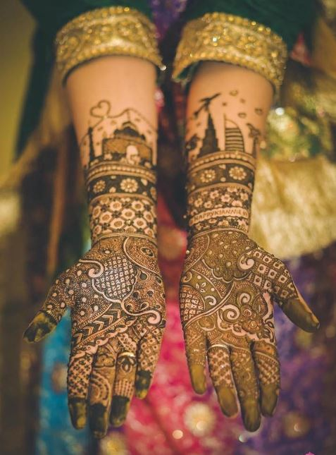 Latest Mehendi Designs Beautiful Trends for Girls (44)