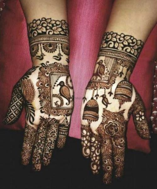 Latest Mehendi Designs Beautiful Trends for Girls (46)