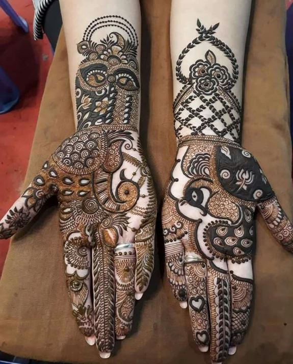 Latest Mehendi Designs Beautiful Trends for Girls (47)