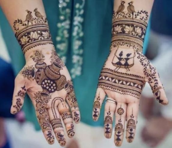 Latest Mehendi Designs Beautiful Trends for Girls (48)