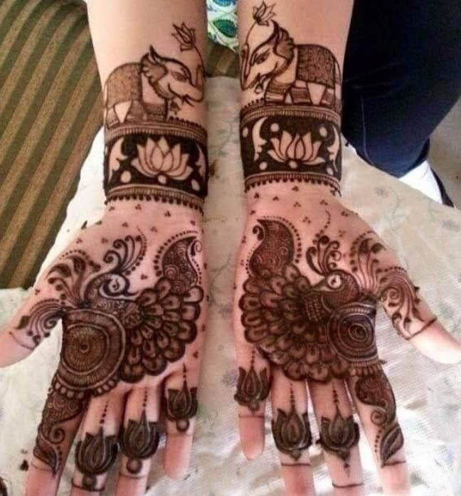 Latest Mehendi Designs Beautiful Trends for Girls (52)