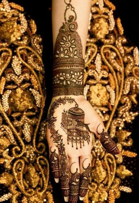 Latest Mehendi Designs Beautiful Trends for Girls (54)