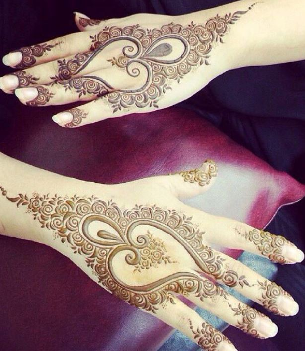 Latest Mehendi Designs Beautiful Trends for Girls (67)