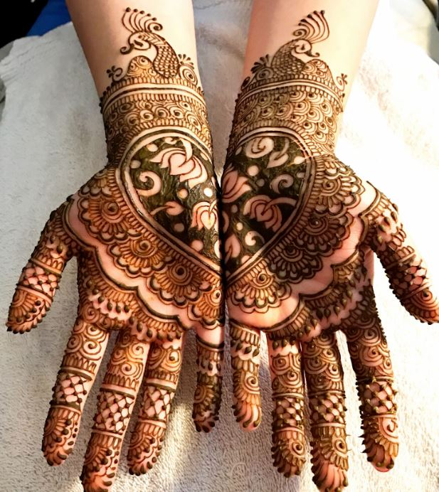 Latest Mehendi Designs Beautiful Trends for Girls (68)