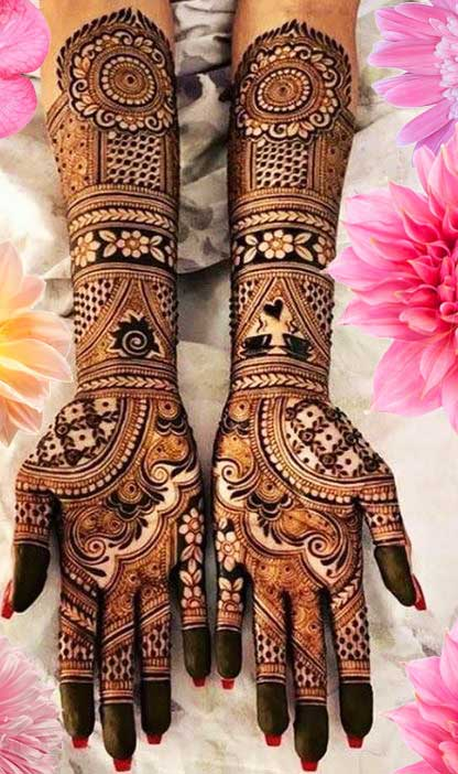 Latest Mehendi Designs Beautiful Trends for Girls (69)