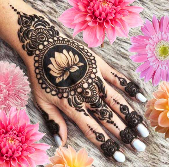 Latest Mehendi Designs Beautiful Trends for Girls (70)