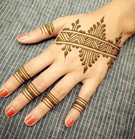 Latest Mehendi Designs Beautiful Trends for Girls easy simple
