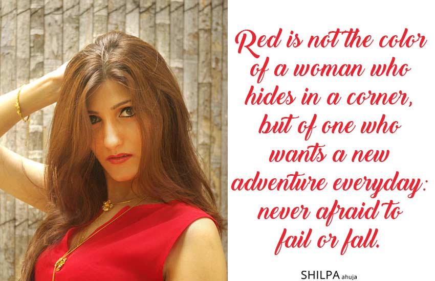 Red-Dress-Captions-for-Instagram quotes sassy mood