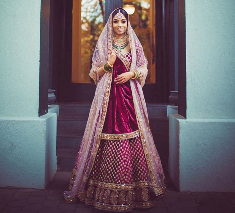 Sabyasachi Latest Bridal Lehenga Colors Trends 2019