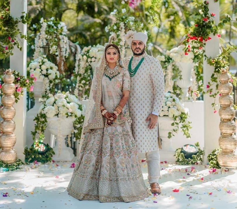Sabyasachi Latest Indian Bridal Lehenga Colors Trends 2019 Wedding Blue