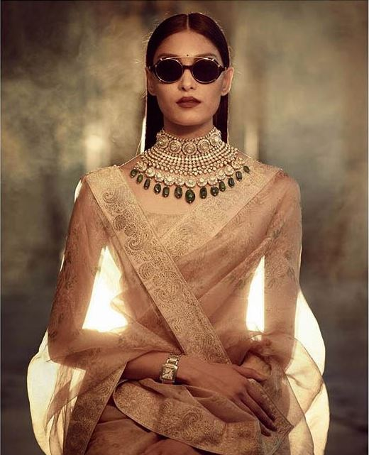 Sabyasachi Latest Saree Color Trends 2019 Nude Colors