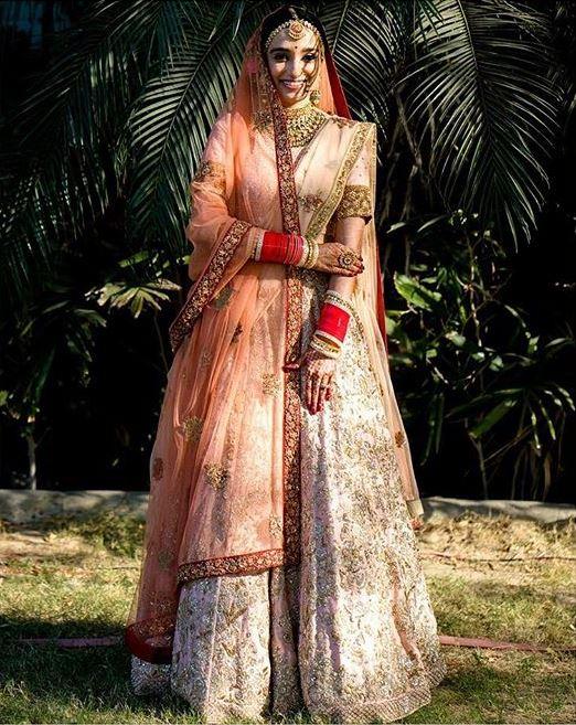 Shyamal Bhumika Bridal Lehenga Trends 2019 Dupatta