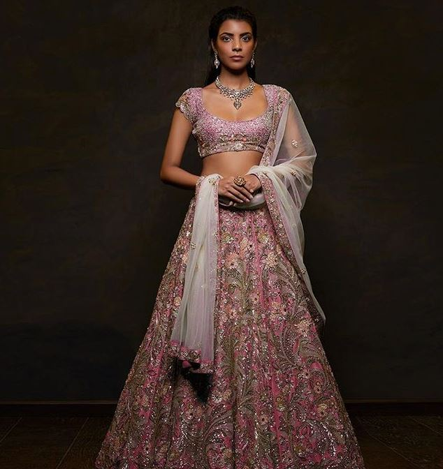 Shyamal Bhumika Latest Bridal Lehenga Colors Trends 2019