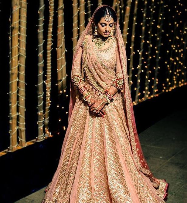 Tarun Tahiliani Latest Indian Bridal Lehenga Colors Trends 2019 Wedding Pastel Pink