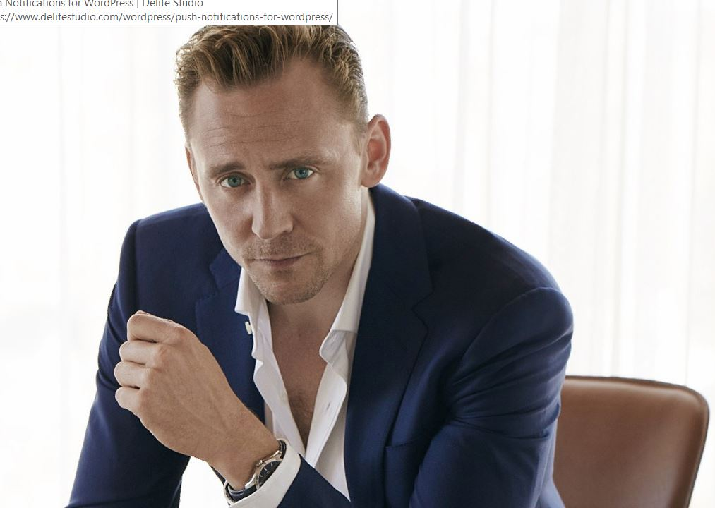 Top Male Celebrity Crushes tom hiddleston