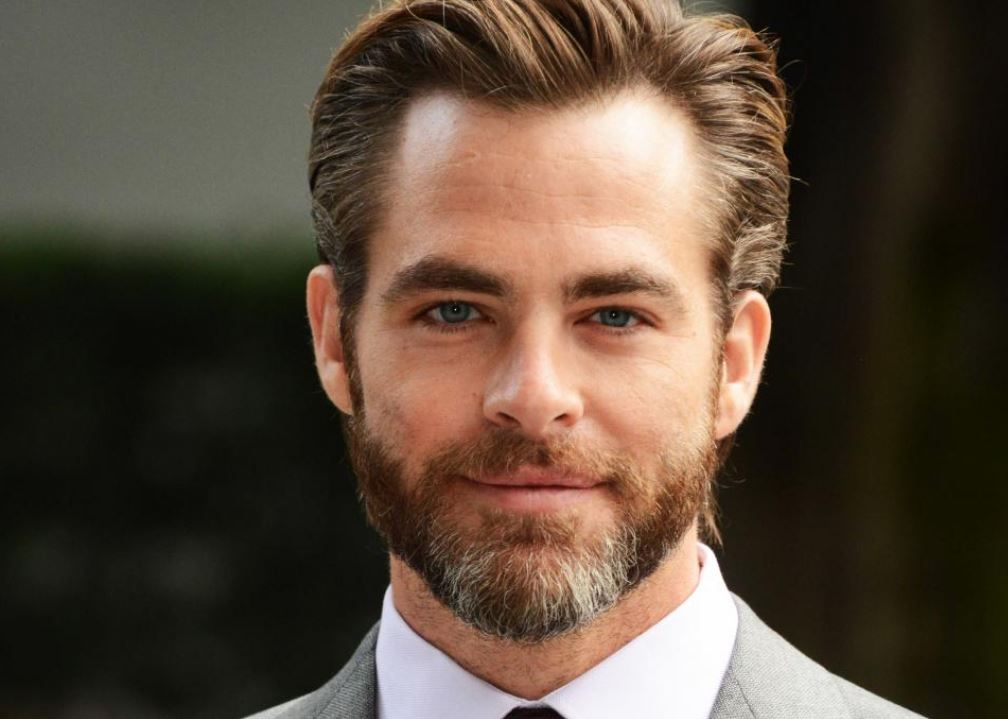 chris pine most attractive male actors in the world