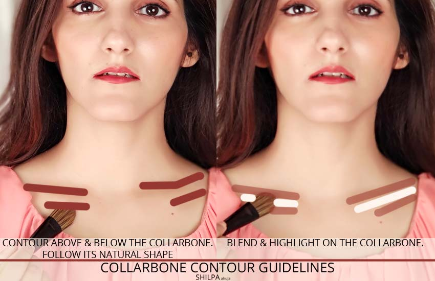 collarbone-contour-guidelines-how-to-do-body-contouring-makeup-tips