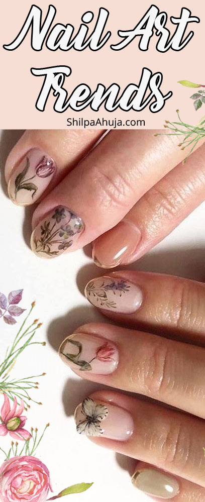6c nail art trends 2019 popular top