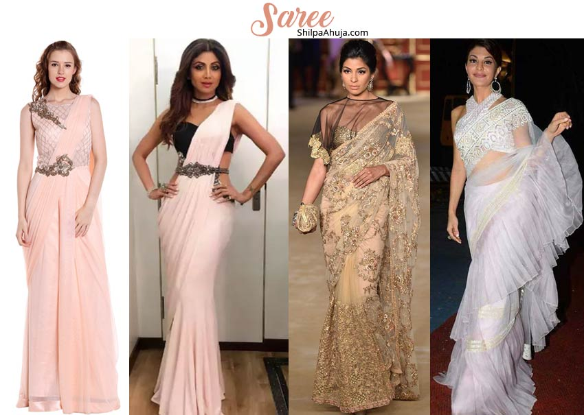 How to Dress for College Farewell girls saree
