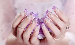 beautiful nail art trends 2019 applique