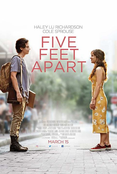 cute teenage movies must-watch teenage drama movies five feet apart 5