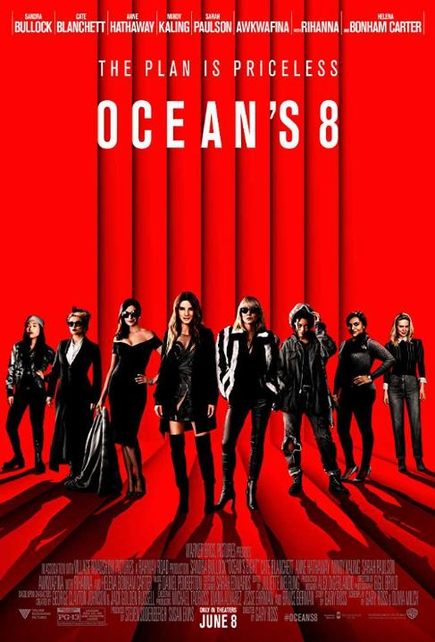 girly movies chick flick oceans eight 8