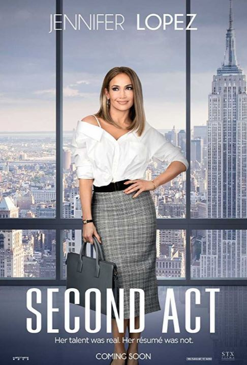 latest chick flicks movies of 2019 second act