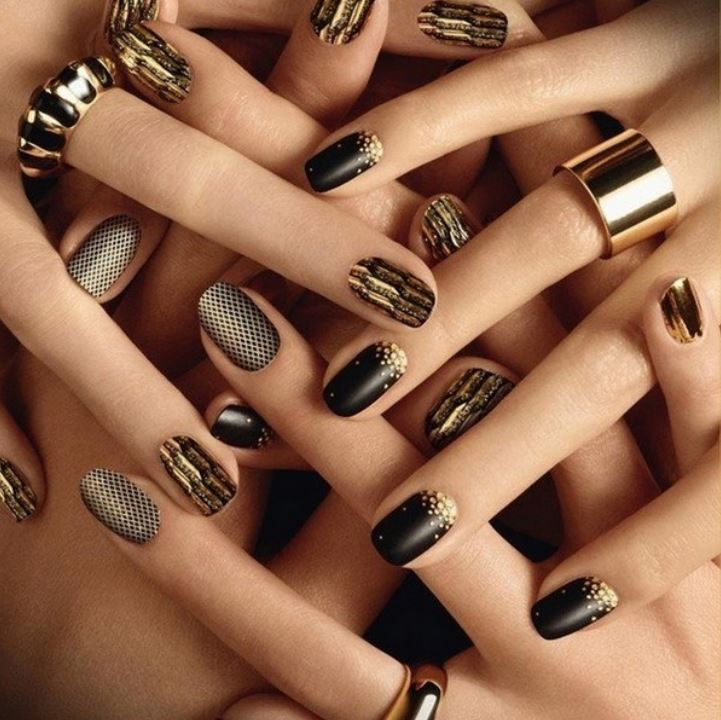 new nail art designs ideas trends 2019 noir theme