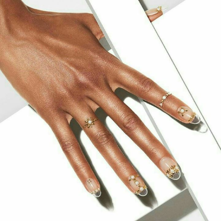 plexi see through transparent nails nail art 2019 trends