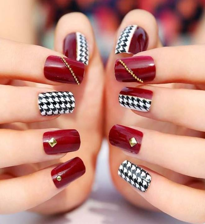 top Nail Design ideas for spring 2019 pachekedg glitter with rhinestones OTT