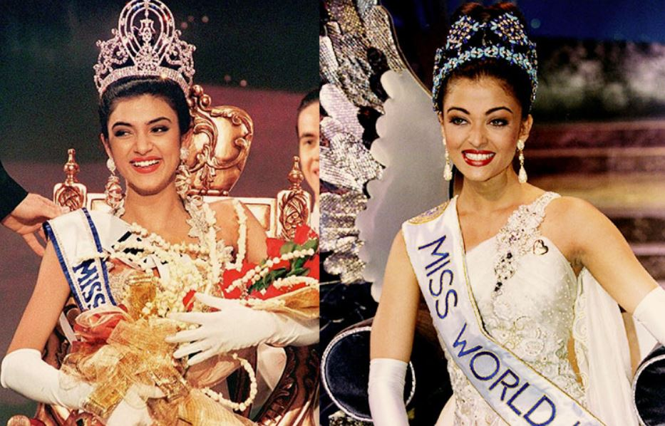 Aishwarya Rai and Sushmita Sen