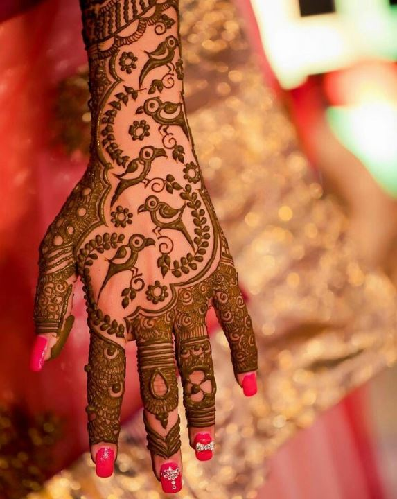 Best-Arabic-bridal mehndi designs-for-Indian-Weddings