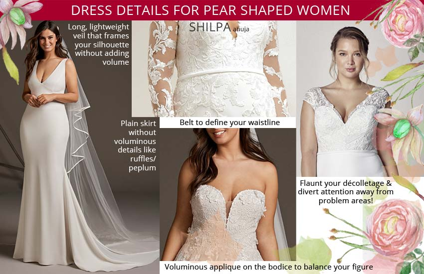 how-to-select-a-wedding-dress-for-pear-shape-body-type-women