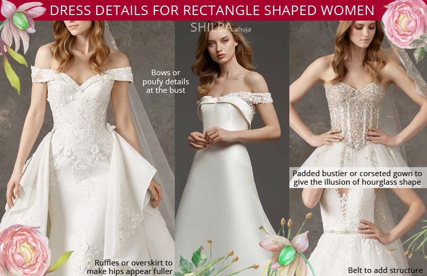 how-to-select-a-wedding-dress-for-rectangle-body-type-shape
