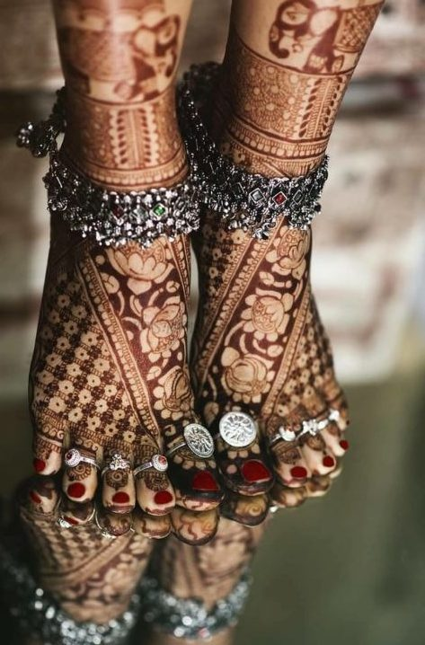 latest new bridal mehndi trends 2019