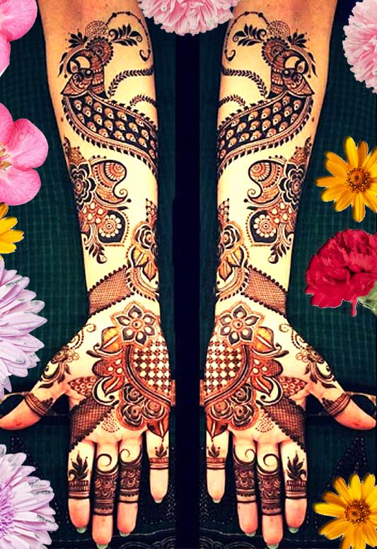 top new bridal mehndi trends 2019
