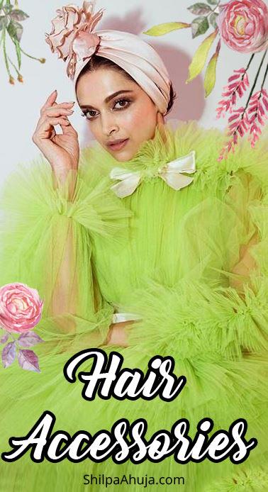 3ba how to wear hair accessories deepka padukone celeb