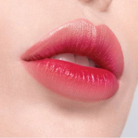Glass Skin Steps makeup lips