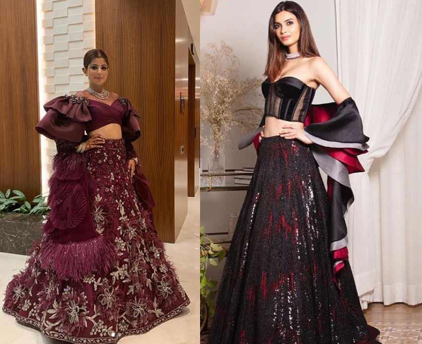 Top Designer Lehenga Trends 2019 Dupatta-Manish-Malhotra