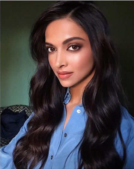 deepika padukone wavy indian actress hairstyles new trends