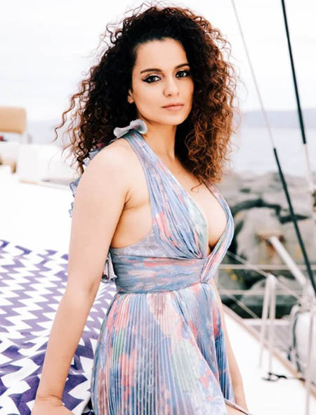 kangana curly bollywood celebrity hairstyles 2019 latest
