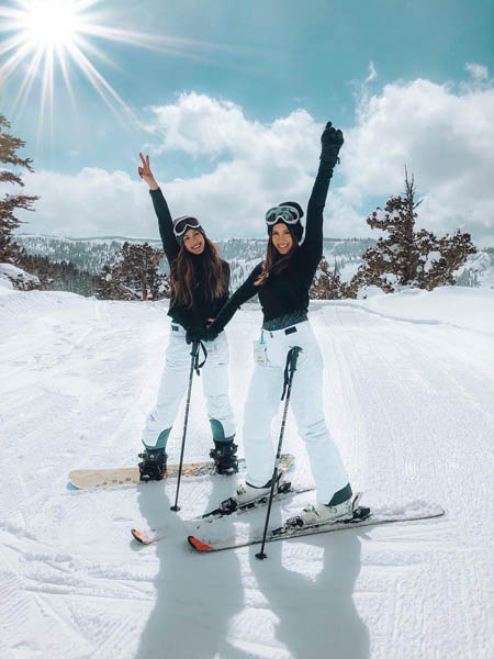 women snow sports