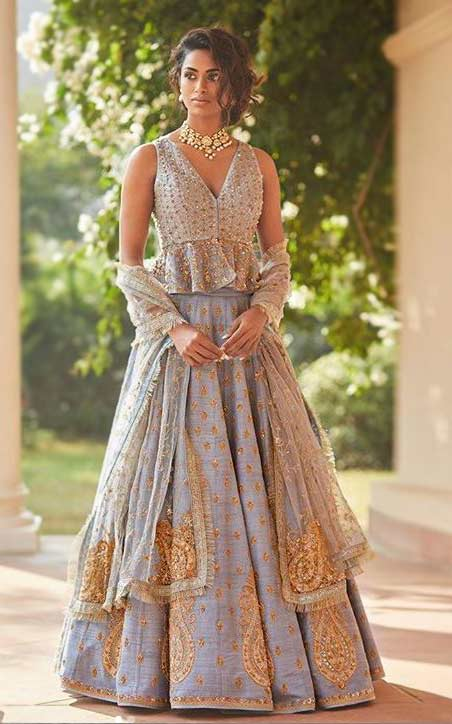 2019 designer lehenga choli blouse Sue-Mue