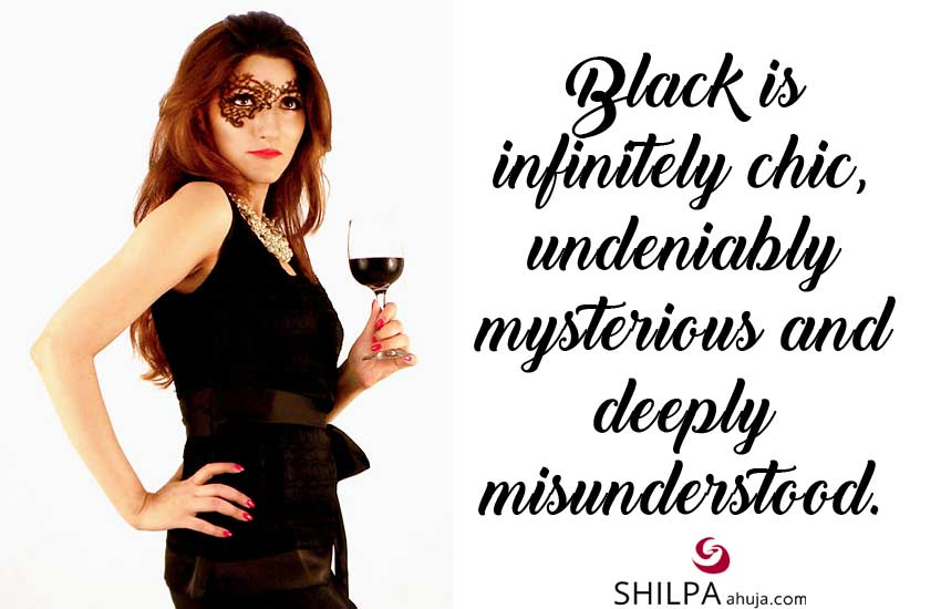 Famous Black Quotes Black Dress Sayings outfit captions