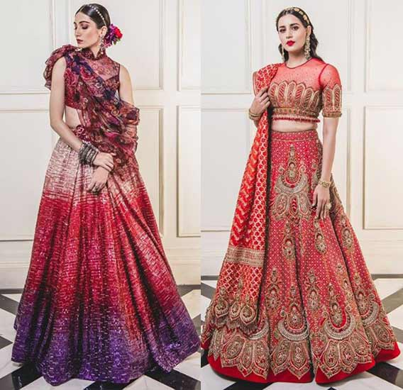 Illusion-Neck-Lehenga-Choli-Designs-2019-Illusion-Neckline-Tarun-Tahiiani
