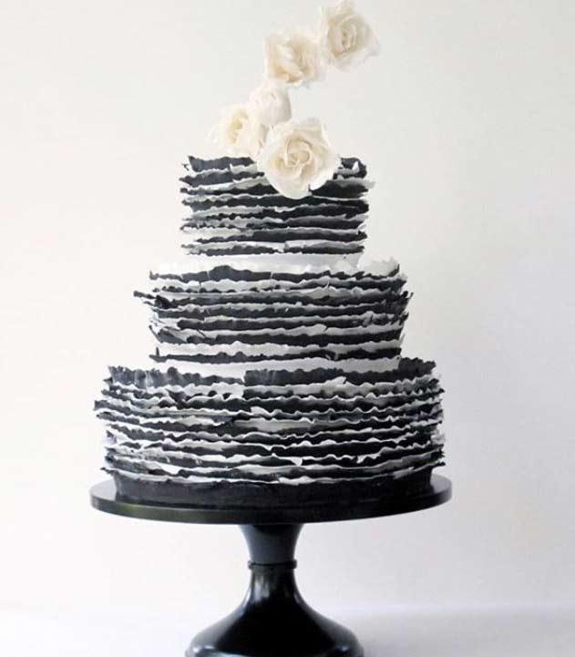 Trendy-wedding-Cake-Designs-2019-black-maggieaustincake