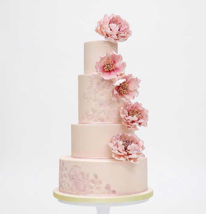 beautiful-wedding-Cake-images-2019-pink-rosalindmillercakes