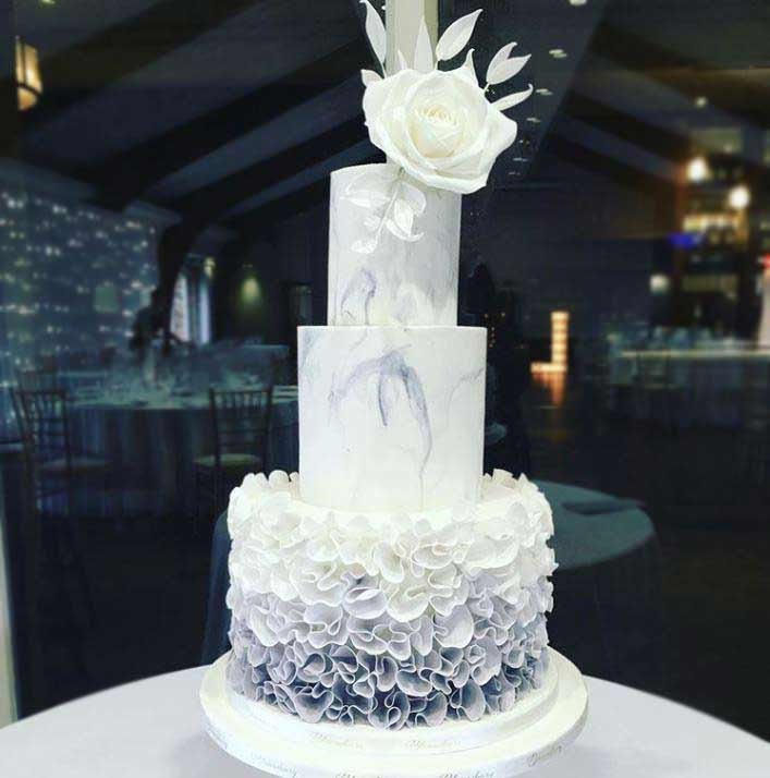 best-wedding-Cake-art-2019-ruffles-bloomsbury_cakes
